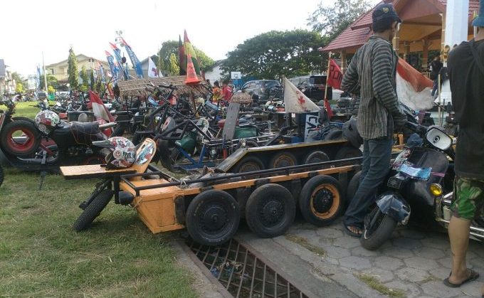 Scooter Day Camping Ground 2018