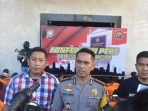 Press release Polrestabes Makassar